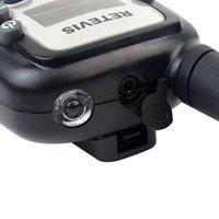 Wholesale 2PCS New Black Walkie Talkie Retevis RT UHF MHz W CH For Kid Children LCD Display Flashlight VOX Two Way Radio