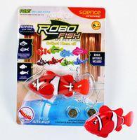 Wholesale New Novel Robofish Electric Toy Robo Fish Emulational Toy Robot Fish Electronic pets
