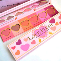 Wholesale Factory Direct Love Flush Blush Long Lasting hour Blush Wardrobe Palette SIX Shades ship out within hours
