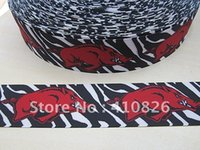 achat en gros de ruban zebra grosgrain imprimé-Ruban 1-1 / 2