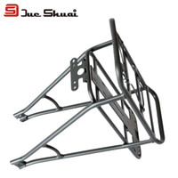 Wholesale 700C Inch Universal Rack Road Mountain Bike Double layer Rear Rack Adjustable Black Road Cycling Bicycle Luggage Carrier Racks