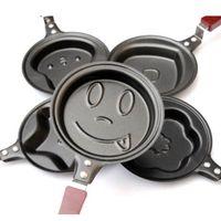 Wholesale Lovely Egg Frying Pancakes Kitchen Pan with Stick Housewares Mini Pot DIY Types