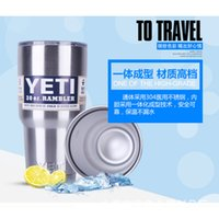 beer trading - YETI Bilayer Stainless Steel Insulation Cup OZ YETI Cups Cars Beer Mug Large Capacity Mug Tumblerful Foreign Trade