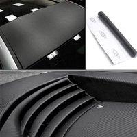 automotive film - 1pc Automobile D Stereo Carbon Fiber Film Car Sticker Automotive Appearance DIY Sticker