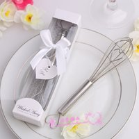 away heart - Whisked Away Stainless Steel Heart Shape Hand Whisk Egg Beater Wedding favors Birthday Gifts