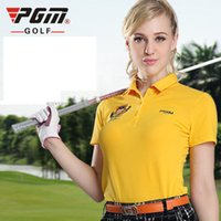 Wholesale Counter new PGM authentic golf clothing Ladies clothing Fashion Golf Ball Korean short sleeved T shirt