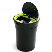 belt lighter holder - New Car Ashtray Car Charger LED Cigarette Lighter Power Plug Socket With Belt Cover Cigarette Holder Ashtray for Car
