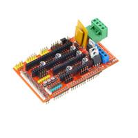 Wholesale 3D Printer Control Board Print Control for RAMPS Reprap MendelPrusa Mendel Prusa DIY kit A4988