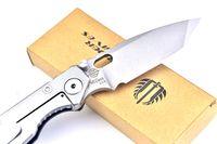 wave board - ST Black tank T wave board head HRC outdoor survival camping hunting knife folding knife