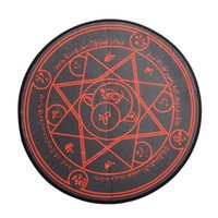 Wholesale Red Magic Circle Pattern Round Area Rug Anime Fate Stay Night Zero Home Deco High Quality