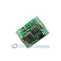 Wholesale 10 Ultra Small Size DC DC Step Down Power Supply Module A Adjustable Buck Converter for Arduino Replace LM2596