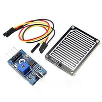 Wholesale High Quality pc V Rain Raindrops Detection Sensor Weather Humidity Module