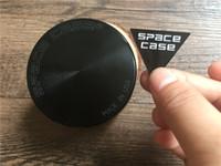 aluminum detector - 55mm mm pc Space Case Grinder CNC Space case grinder Aluminum smoke cigarette detector smoking Tobacco grinder for herb VS sharpstone