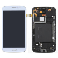 Cheap Free Shipping New Frame +LCD Screen Touch Digitizer Assembly for Samsung Galaxy Mega 5.8 i9152