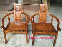 armchair styles - Luxury wood armchair chinese antique style furniture living room casual chairs coffee table chairs in African Red sandalwood