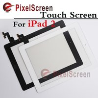 For Ipad2 apple original ipad - Tested Original For ipad Touch Screen Digitizer Touch Glass With Home Button Button Flex Black White
