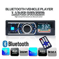 Wholesale car dvd V Bluetooth Car Stereo Audio MP3 Player W FM Radio Aux Input Receiver Car HandsFree SD USB with Remote order lt no track