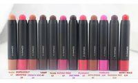 Wholesale NEW MAKEUP Patentpolish Lip Pencils MATTE Lipstick g color Pieces