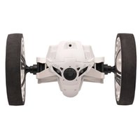 airplane kit rc - Rechargeable Bounce Car LED Mini RC Voiture GHz Jumping Sumo RC Car with Flexible Wheels Remote Control Robot Toy WJ021_2545