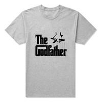 animal actor - Famous Movie The Godfather T Shirt Men Short Sleeve O Neck Marlon Brando Actor Desin God father Unique Top Tees