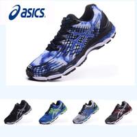 Wholesale Asics Nimbus17 Running Shoes Men Shoes Non Slip Comfortable Breathable Discount Sports Shoes Sneakers Eur