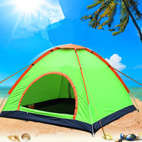 Wholesale Automatic Tents people Outdoor Camping Waterproof Sunscreen Beach Camping Tents