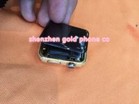 Wholesale for apple watch ct k real gold crystal with diamond housing back cover