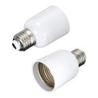 Wholesale Brand New E27 To E40 Light Screw Bulb Lamp Socket Base Extender Converter Adapter Holder Best Promotion