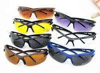 Wholesale Explosion proof Sunglasses outdoor cycling glasses battery car bicycle Motorcycle Sunglasses men sunglasses lf
