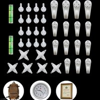 Wholesale 1 set Picture photo clock frame hook hanger seamless needle nail wall invisible hide back nail home decor