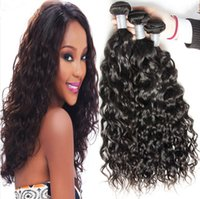 air wave hair - 8A Grade Unprocessed Wet And Wavy Water Wave Virgin Malaysian Curly Human Hair Weave Malaysian Virgin Hair Water Wave Breathing Air