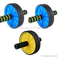 Wholesale 50 Brand New Updated Version Abdominal Wheel Ab Roller With Mat For Exercise Fitness Equipment xx