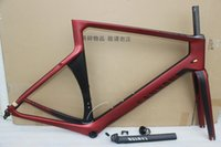 Wholesale road bike Newest Red Aeroad SLX CANYON Road Bicycle Frame canyon Carbon Frame Size XXS XS S M L available color for choice