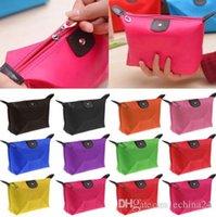 Wholesale Dumplings Make Up Bag Women Lady Girl Reto Waterproof Cosmetic Make Up Sorage Bag Purse Can Print Logo