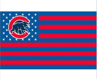 banners printing chicago - Chicago Cubs flag ftx5ft Banner D Polyester Flag metal Grommets digital print