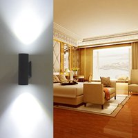 Wholesale Hot New modern outdoor exterior wall lighting outside light fixture sconce lamps W W LED Wall Lamps B505