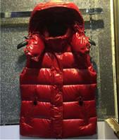 Wholesale M137 Luxury Mon Brand women winter vest UK popular Women Winter Jacket Warm Down anorak women vest parka women jacket GB