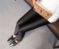 Wholesale Huangs Portugal Shiny Stretch Pants Slim Thin Leggings Female Outer Wear Pantyhose Spring And Summer Thin Section Trousers