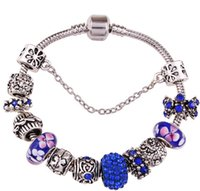 Wholesale 3 color glass crystal bracelet women diamond bracelet jewelry popular products in Europe and the United States