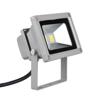 advertising landscaping - 10Watts LED Floodlights IP65 Waterproof Warm White Pure White Outdoor Lights Landscape Advertise Lamp LM Lighting AC85 V