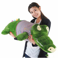 alligator soft toy - new cm Giant Stuffed Plush Soft Crocodile Alligator bhm89