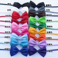 Wholesale Adjustable Bow ties for Kids Children Fashion ties Colorful Ties Lovely Pet Tie Bow Ties Fashion Accessories