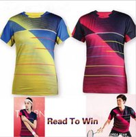 badminton victor shirt - 2016 New Victor men s jersey Tops table tennis clothing Soft fabric sportswear Badminton Only T shirt