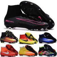 aa beige leather - Kids Magista Obra Cheap football Soccer Shoes Botas For Men Mercurial Superfly FG Football Boots CR7 Mens Soccer Cleats Boots