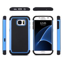 arrival defender - New Arrival Shockproof Impact Hybrid Back Cover Case for Samsung Galaxy S7 Defender Case DHL