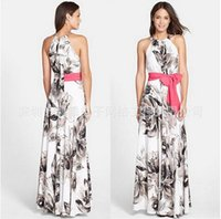 animal print dress uk - UK Womens Celeb Sexy Floral Long Maxi Dress Ladies Summer Beach Party Sun Dress