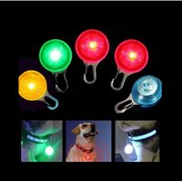 Wholesale Hot Fascinating Pet Dog Cat Puppy LED Flashing Collar Safety Night Light Pendant