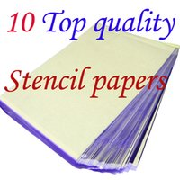 Wholesale Solong Tattoo Accessories Top Quality Sheets A4 Tattoo Transfer Stecial Paper Spirit Master Supply