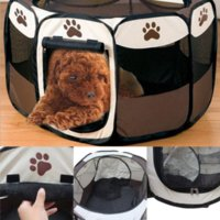 Wholesale 2016 Hot Selling Folding pet Tent Playpen Dog Fence Puppy Kennel Folding Exercise Play Cheap tent party