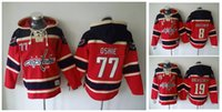 Wholesale Washington Capitals Hockey Men Jerseys Alexander Ovechkin nicklas backstrom Oshie Hockey Hoodie Hooded Sweatshirt Jackets Jersey